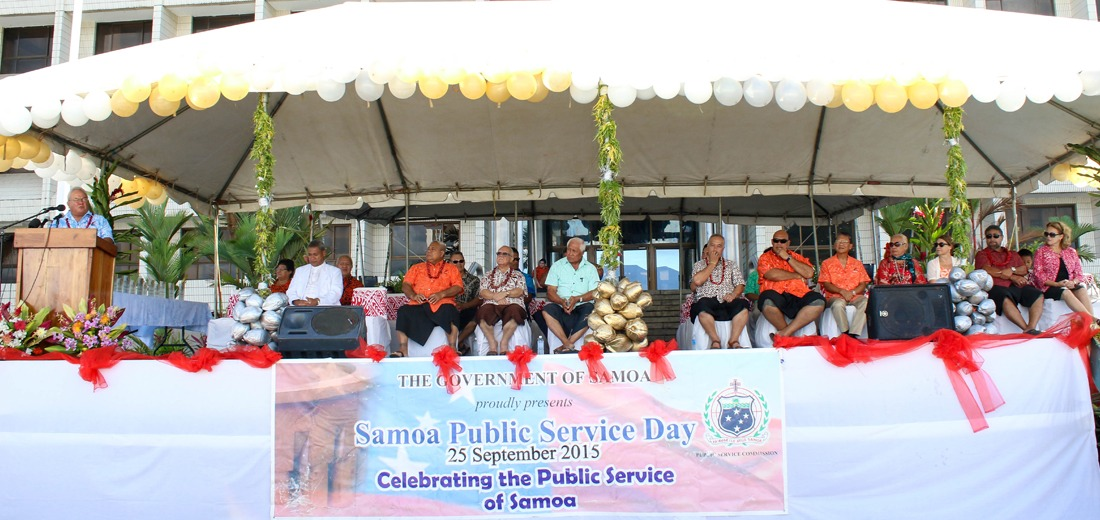 Samoa celebrates its Public Service