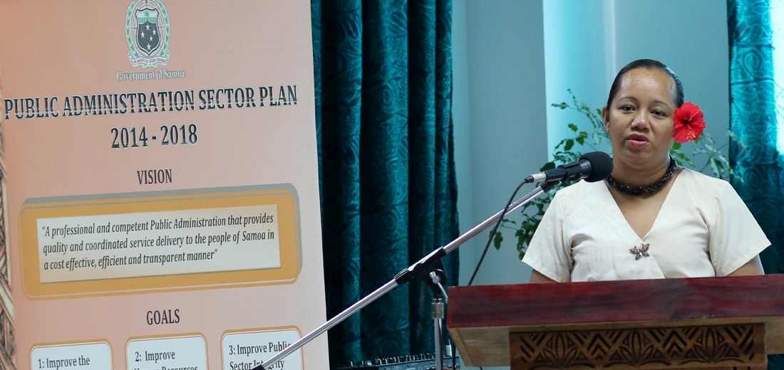 Public Administration Sector undertakes first annual review of its 5 Year Sector Plan