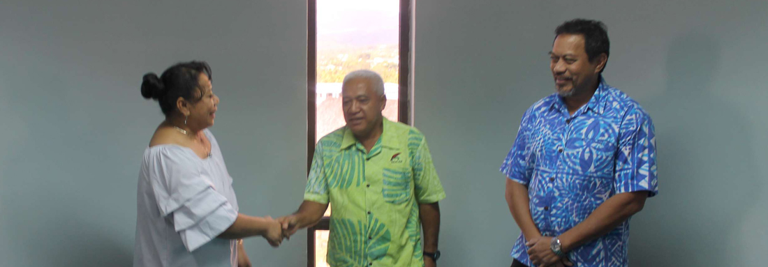Samoa's Public Service Commission shared Human Resource best practices with Tongan Public Service Commission