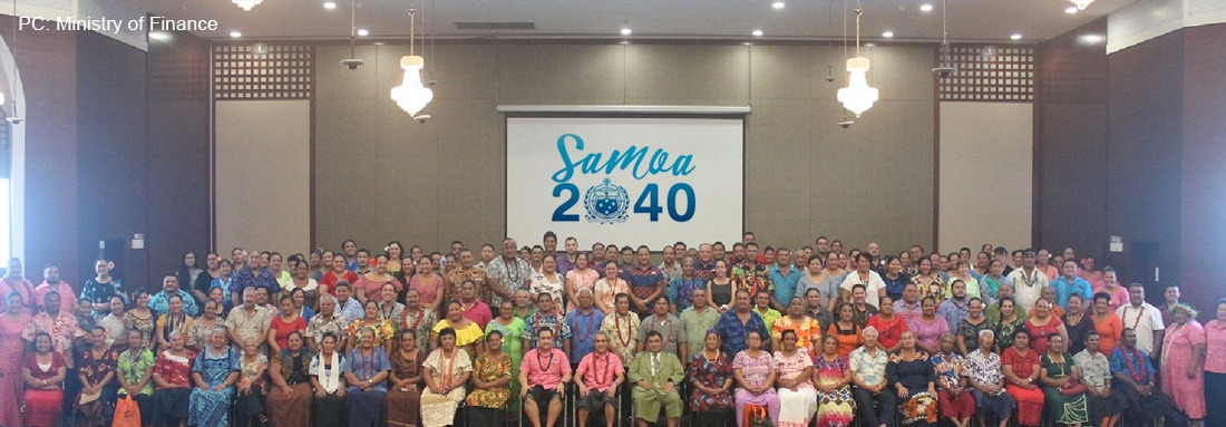 """Samoa 2040"" looks at transforming Samoa to a higher growth path in the next 20 years"