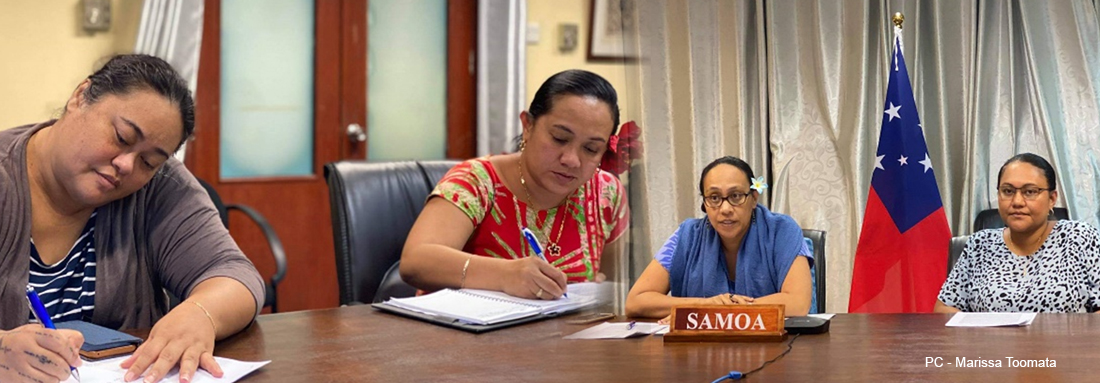Samoa participates in the first virtual intersessional meeting of the conference of the state parties to the United Nations Convention Against Corruption ahead of United Nations General Assembly special session